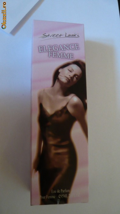 Apa de parfum Elegance Femme, Sweet Looks- marca Leonardo foto mare