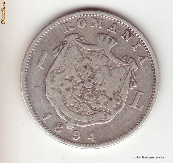1 leu 1894 foto mare