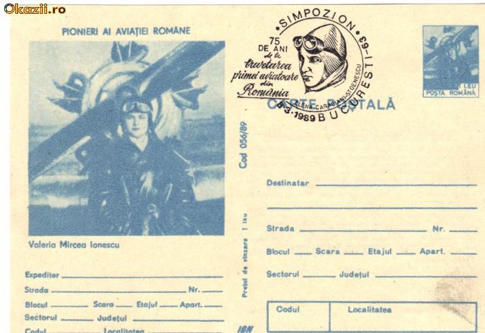 CP intreg postal aviatie - Valeria Mircea Ionescu