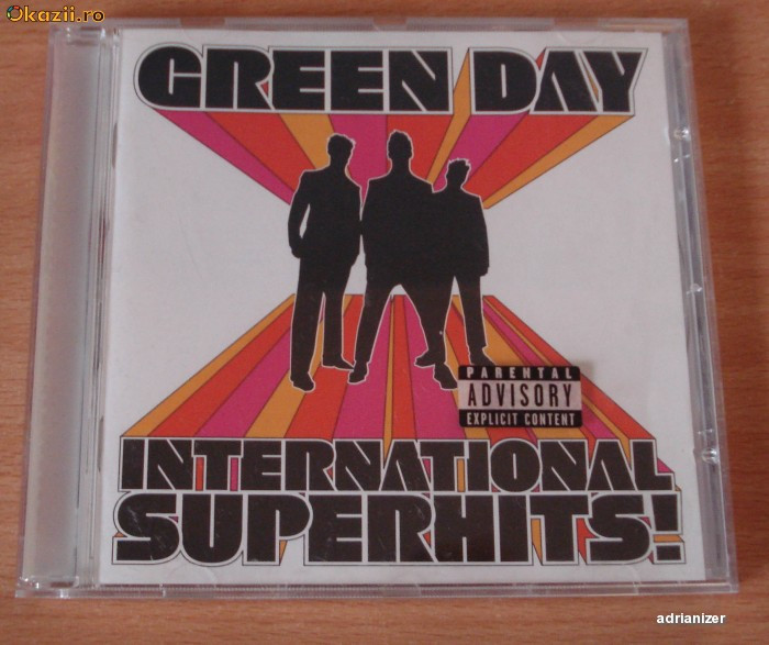 Green Day - International SuperHits! foto mare