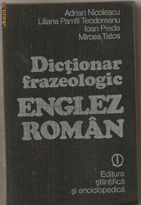 Dictionar stiintific englez roman