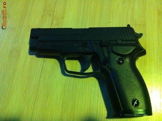Pistol Gaz Autoaparare Norconia Gas FARA PERMIS foto mare