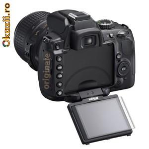 Nikon D5000 folie de protectie (set 2 folii) 3M CV8 foto mare