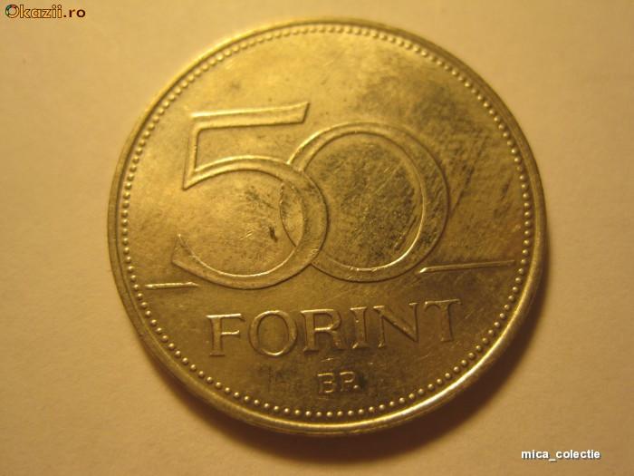 Moneda Ungaria * P1*  50 forint 1995 foto mare