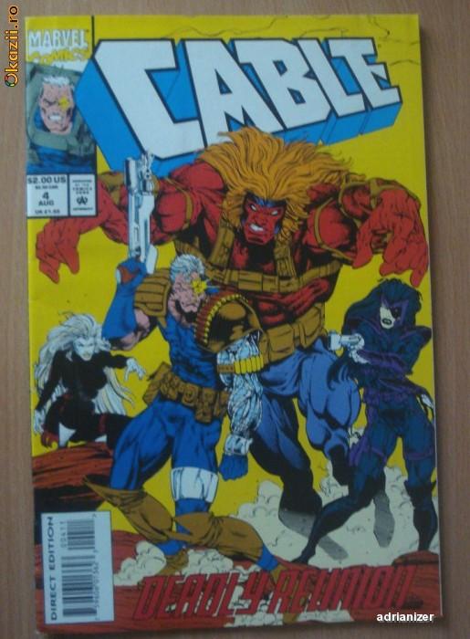 Cable #4 Marvel Comics foto mare