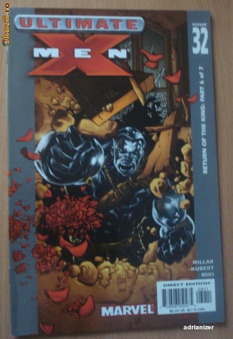 X-Men Ultimate #32 . Marvel Comics foto mare