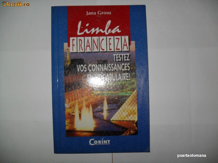 Jana Grosu -Limba franceza testez vos connaissances en vocabulaire