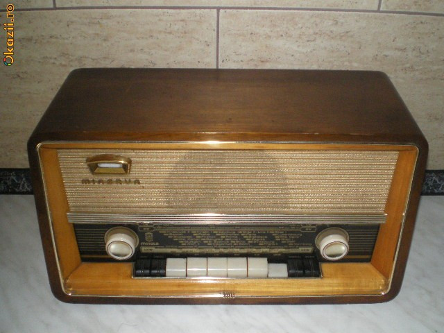 Radio pe lampi MINERVA MINOLA foto mare