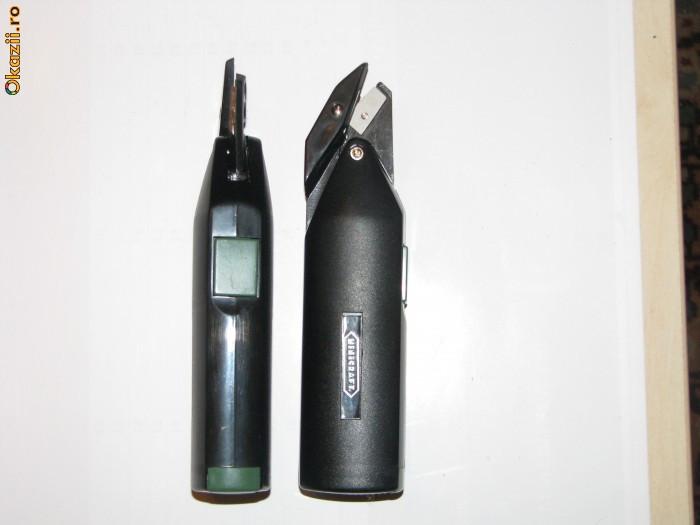 Foarfeca electrica cu baterii  MINICRAFT