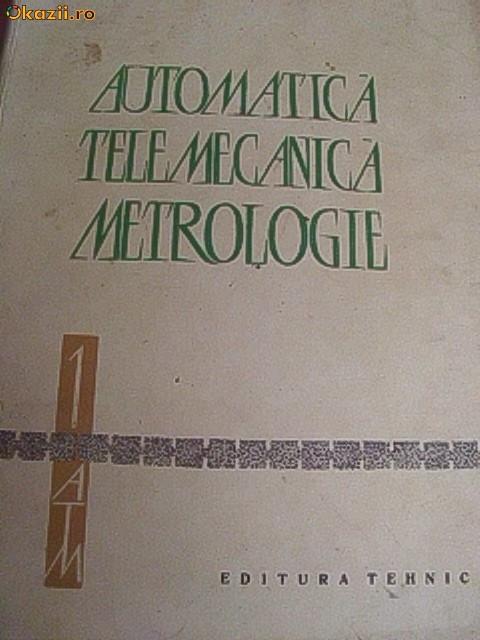 AUTOMATICA TELEMECANICA METROLOGIE -VOL1