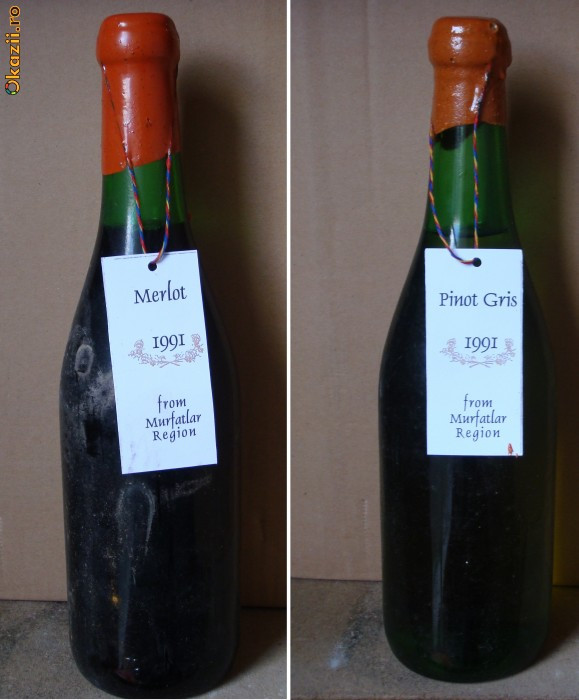 Pachet vinuri de colectie