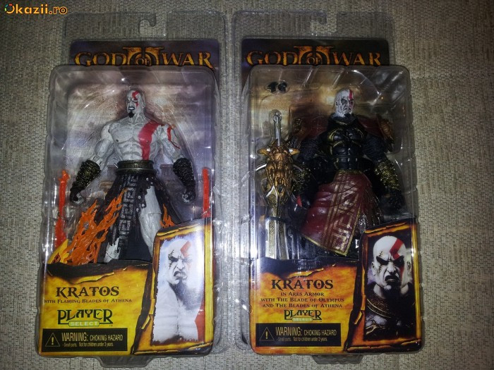 Vand Figurine Playstation Kratos God of War Ares Armor si