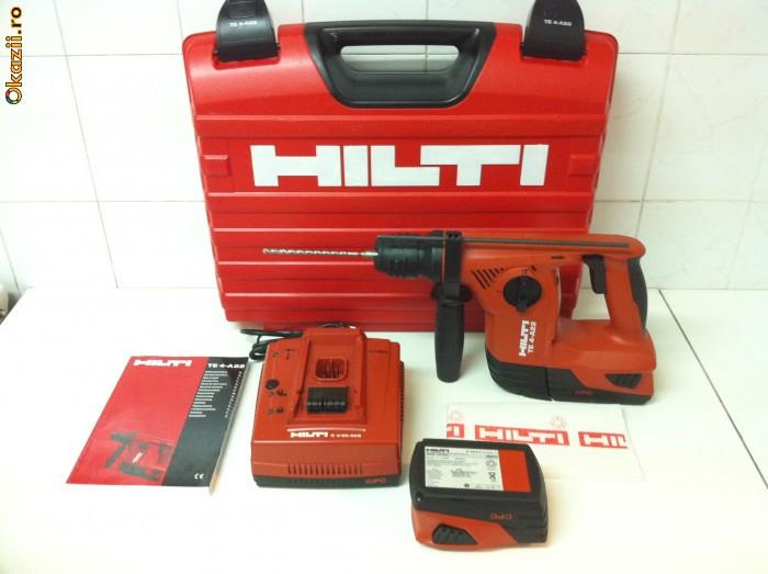 HILTI T4-A22  ,,este noua nouta din 2011 '' foto mare