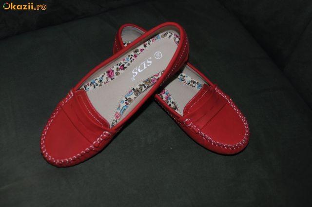 Vand papuci stil mocasini foto mare