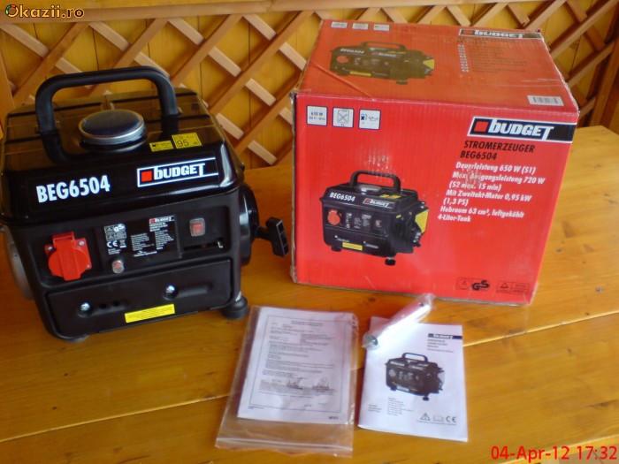 Generator de curent Budget 6504 foto mare