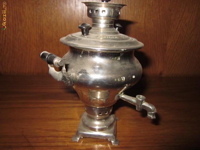 Samovar miniatural vechi rusesc