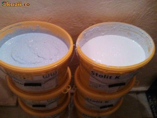 Tencuiala/vopsea decorativa fatade STO 3mm - se poate pigmenta, galeata 25 kg foto mare