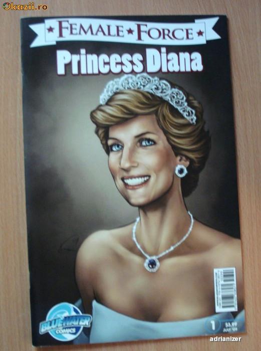 Princess Diana - Female Force #1 foto mare