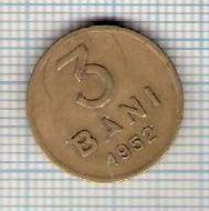 118 Moneda 3 BANI 1952 -starea care se vede -ceva mai buna decat scanarea