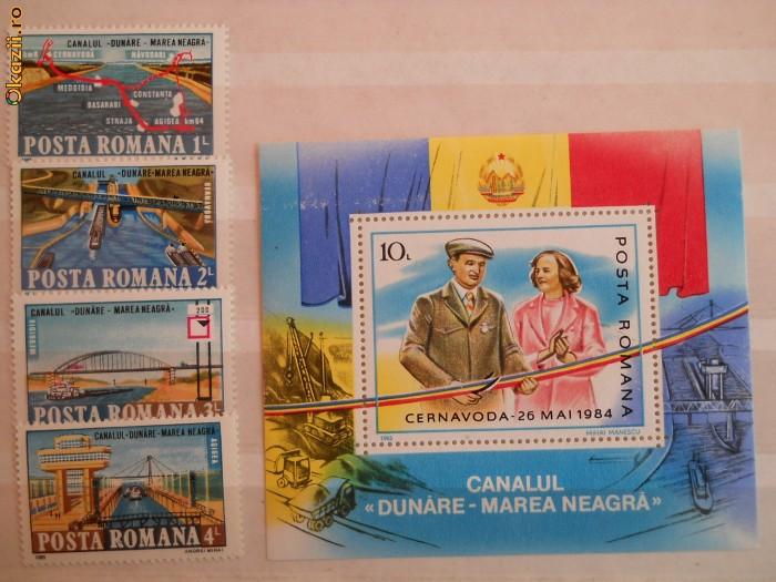 1985  LP 1127-8  Canalul Dunare - Marea Neagra  LP 1127-8