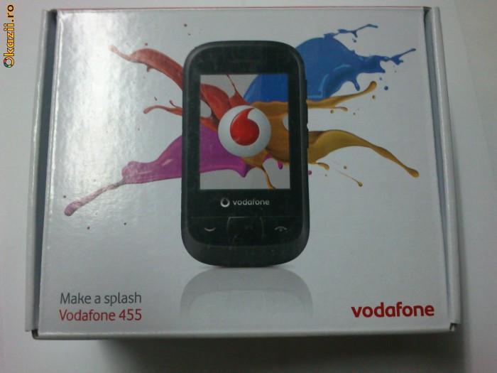 Telefon Vodafone 445 White ,TOUCHSCREEN,  NOU , SIGILAT  IN CUTIE  !!!!!!!!!!!!!!!!!! foto mare