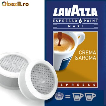 Pastile cafea Lavazza Crema&Aroma Expresso foto mare
