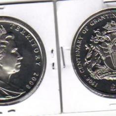 Bnk mnd teritoriile antarctice britanice 2 pounds 2008 unc