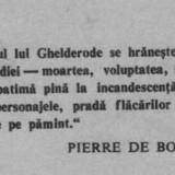 Michel de ghelderode - povestiri crepusculare - Roman, Anul publicarii: 1973