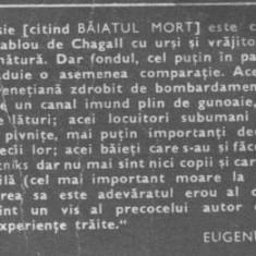 Goffredo parise -baiatul mort si cometele *abecedar partea intai - Manual scolar