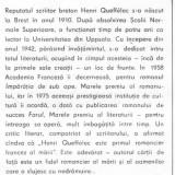 Henri queffelec - o lumina se aprinde pe mare - Roman, Anul publicarii: 1987