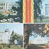BUCURESTI 4 IMAGINI DIN 1986 - Carte Postala Muntenia dupa 1918
