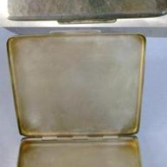 Tabachera (pudriera?) veche din argint 835 - Tabachera veche