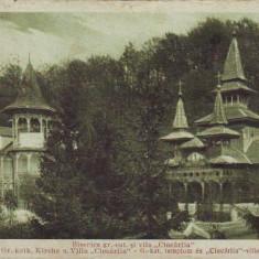 Baile Sovata-Biserica Greco Catolica si Vila Ciocarlia,1934