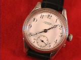 De colectie ! Superb ceas de mana LONGINES LE CAIRE 1900 ,argint,foarte rar!, Mecanic-Manual