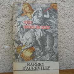 Barbey D'Aurevilly - Vrajita. Cavalerul Des Touches - Roman, Anul publicarii: 1991