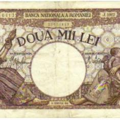 Bnk bn romania 2000 lei 18 nov 1941 - Bancnota romaneasca