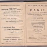 GHIDUL PARISULUI SI AL IMPREJURIMILOR / 1924 - Carte Editie princeps