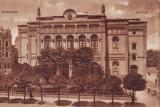 Debrecen, teatrul, circulat 1916