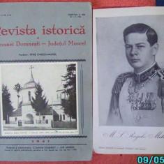 Ionescu Muscel, Revista istorica a com.Domnesti, Jud.Muscel, 1941 - Carte Editie princeps