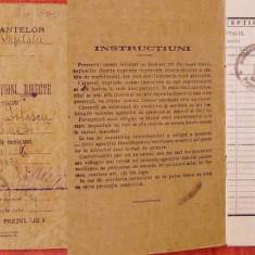 Carnet de contributiuni directe pe anii 1929 - 1932, Bucuresti - Hartie cu Antet