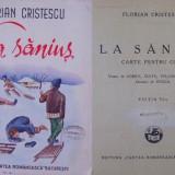 Florian Cristescu, La sanius, antologie pt.copii, aparuta interbelic - Carte Antologie
