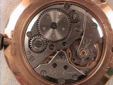 Ceas vechi de mana VASTOK placat aur, Mecanic-Manual