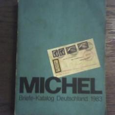 CATALOG MICHEL-GERMANIA-PT PLICURI-1983 - Plic Papetarie