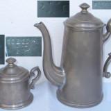 2 vase vechi din metal (reinnickel) - Metal/Fonta