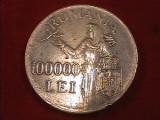 De colectie ! Moneda argint 100.000 lei - 1946