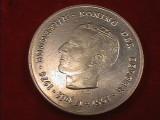 De colectie ! Moneda argint masiv 250 franci Belgia