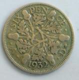 Anglia six pence 1932