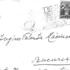 STAMP. VIZITATI SINAIA PERLA CARPATILOR 1934