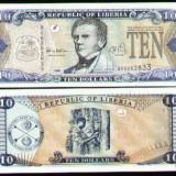Bnk bn liberia 10 $ 2003 unc