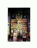 Carte Postala 110-75 -Catapeteasma Manastirii Hurezi , Sculptura in lemn de...